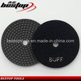 Black Buff Wet Polishing Pad for Black Granite Polish