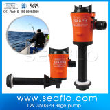 Mini Lif Bilge Water Pump 12V, 600gph Blue+Whilte+Black