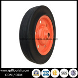 Wheelbarrow Solid Rubber Powder Caster Wheel for Trolley Cart