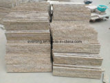 G682 Rusty Yellow, Sunset Gold Granite, Misty Yellow Culture Stone for Wall Cladding