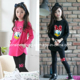 Long Sleeve T-Shirt and Pants Suits Chlidren Clothes for Girls
