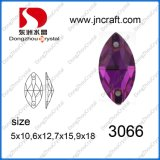 Wholesale Price Colorful Horse Eye Crystal Sew on Stones for Clothing Decoration