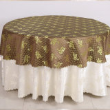 Good Price Polyester Fabric European Style Hotel Table Cloth