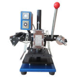 Small Manual Hot Stamping Machine for Shoes Logo