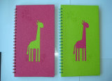 Spiral Binding Notebook with Hardcover and Logo