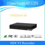Dahua 4 Channel Penta-Brid 4MP 1u Digital Video Recorder (XVR5204AN-4M)