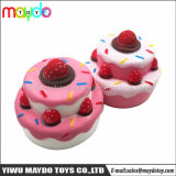 Hot Selling Jumbo Squishies Strawberry Cake PU Squishy Slow Rising Toy