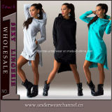 Adult Girls Woman Casual Dress Women Clothes (TONY1902)