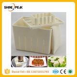 Plastic Tofu Press Mould Homemade Tofu Mold Soybean Curd Tofu Making Mold with Cheese Cloth Kitchen Cooking Tool Set