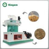 Hot Sale in Indonesia 1-1.5ton / Hour Rice Husk Ring Die Wood Pellet Machine