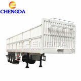High Quality Cheap Sidewall Semi Trailer Flatbed Trailer with Side Wall Semi Trailer Price
