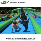 Custom Inflatable Water Slide City Street, Water Slide Slip City