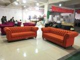 American Classic Design Velvet Fabric Tufted Sofa