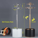 Stainless Steel Metal Clothes Hanger / Belt Display Rack / Stand / Shelf