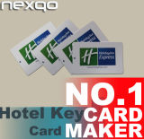 RFID Blank or Printable Access Control Card for Hotel, Guesthouse