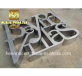 Customed Oudoor Advertising Metal Stainless Steel 3D Letter Sign in Good Price