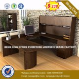 Long Jing Melamine Laminated Beech Color Executive Desk (HX-8N2117)