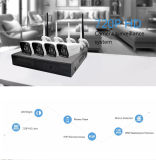 Wholesale WiFi 720p/960p/1080P Wireless 4CH DVR with Monitor CCTV Camera Kit