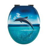 BSCI & Fsc Certification! Factory Direct Price Dolphine Printing Toilet Seat