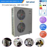 Sweden Cold -25c Winter Floor Heating 100sq Meter Room 12kw/19kw/35kw High Cop Condensor Split Indoor Evi Air Heat Pump Prices