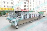 package box making machine folding gluing crash-lock bottom gluing
