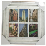 6 Open Frame 6-4X6' Manufacturers Wholesale Selling Plastic Picture Frame Injection Molding Ornate Photo Frame
