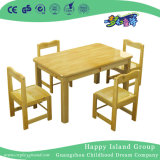School Solid Wooden Rectangle Table Furniture for Children (HG-3806)