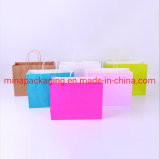 Manufacturer Low Cost Christmas Cheap Brown Kraft Paper Bag for Clothing/Gift/Food/Packaging