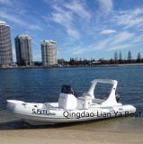 Liya Luxury Rib Boat Semi Rigid Boat with Motor Sale