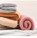 Strong Water Absorption Microfiber Coral Velvet Cleaning Cloth for Housekeeping