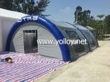 Inflatable Workstation Shelter Tent for Outdoor Using
