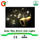 Solar Power Wine Bottle Cork New Outdoor LED String Fairy Christmas Energy Jar Light for Pathway Home Road Villa Yard Garden Factory Sell Low Price