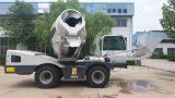 Haiqin Brand Self Loading Mobile Concrete Mixer Truck (HQ4.0) for Sale
