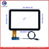 """12.1"""" Projected Capacitive Touch Screen for Industrial LCD Panel G121ean01.1 From Auo"""