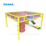 New Knitted Colorful Textile Playgrounds for Children Indoor Playground