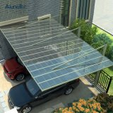 Low Price Metal Frame Metal Carport Material with PC Roofing