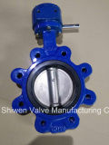 Ductile Iron Heavy Duty Body Lug Type Butterfly Valve