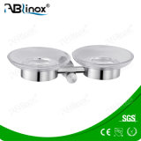 Stainless Steel 304 Double Soap Dishes (AB2111)