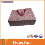 Custom Lovely Gift Paper Bag with Hot Stamping Logo