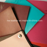 Thermo Change Color PU Leather for Notebook Cover Hw-1417