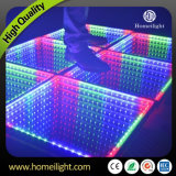 3D Toughted Glass Wireless Remote Interactive Portable RGB LED Dance Floor for Stage Party Wedding Events Show