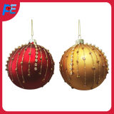Glass Hanging Ball Ornament for Christmas Decorations