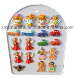 Resin Christmas Gingerbread Angel Decoration Magnet Gifts