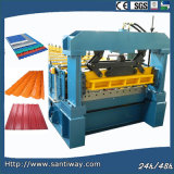 Hydraulc Ibr Roof Sheet Cold Roll Forming Machine Price