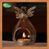 Angel Shaped Glass Candle Holder with New Designer