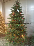 PE Tips Christmas Tree with Multi Color LED Light (direct factory)