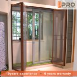 Aluminum Retractable Profile Folding Magnetic Fly Window Screen