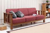 Simple Style Sofa with Solid Wood (M-X1075)