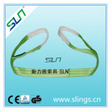 2018 2t*5m Polyester Double Eye Webbing Sling Safety Factor 6: 1