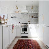 2016 Welbom New Design Modular White Wood Kitchen Furniture